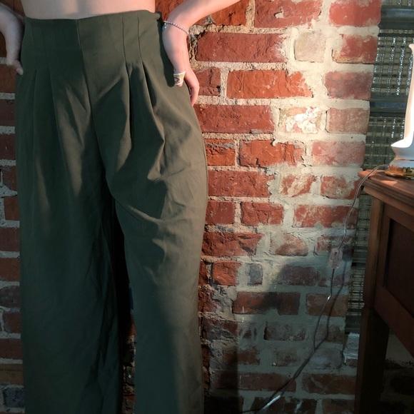 d17b779a0b27 Sienna Sky army green culottes. M 5be28599c61777be9c7a58bb